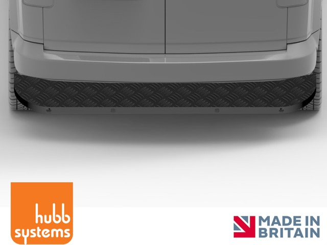 Assured Rear Step in Black by Hubb Systems