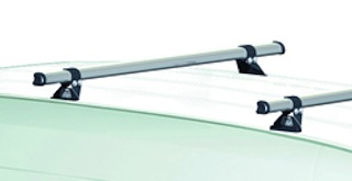 Rhino Delta Aerodynamic Roof Bars - H1 or H2
