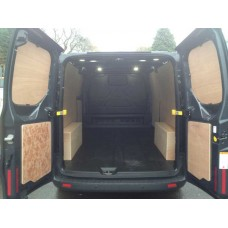 van ply lining templates - ford transit custom van ply lining sides and wheel boxes