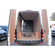 van ply lining templates - vw crafter van ply lining floor sides and wheelarches