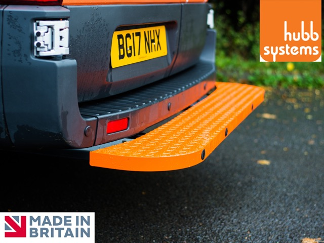 Assured Step - Rear Van Safety Step Renault Trafic 2016+  HSA37