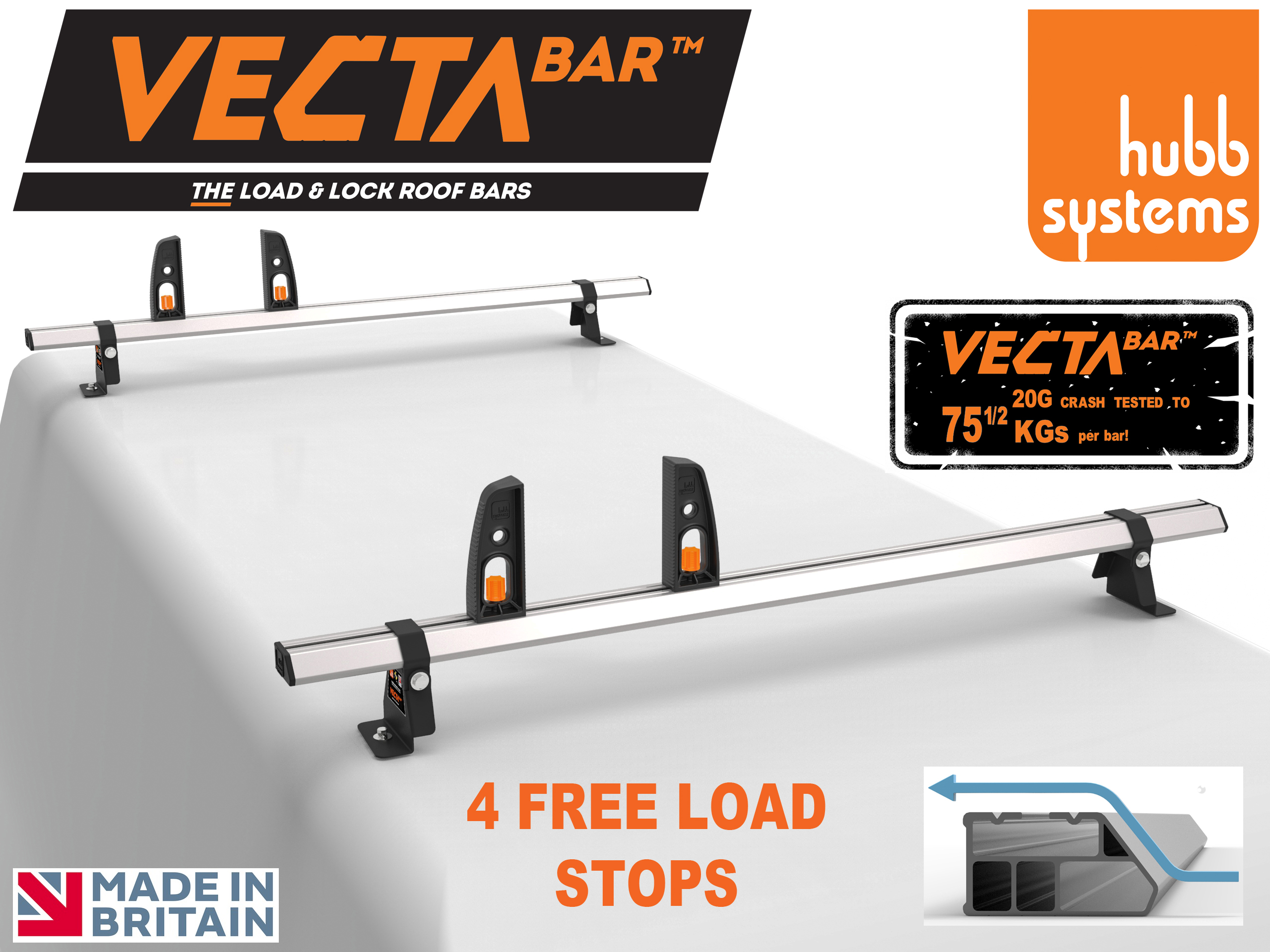VECTA Bar - Probably UK's Strongest Roof Bar - Best online prices - up to 35% discount
