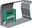 Edstrom Nearside Shelf Unit - A