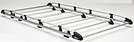 Rhino A590 A591 A592 A593 Aluminium Roof Rack for Berlingo/Partner 2008+